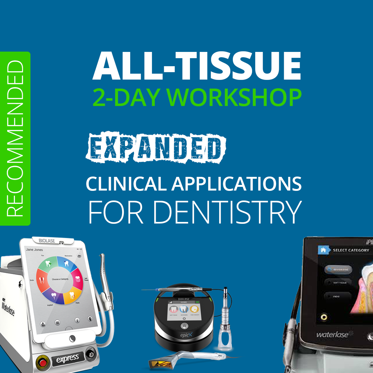 Copenhagen: Clinical Applications in Laser Dentistry  [1 or 2 Days]