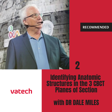 Identifying Anatomic Structures in the 3 CBCT Planes of Section - Radiographer, Dr Dale Miles [2 of 2]